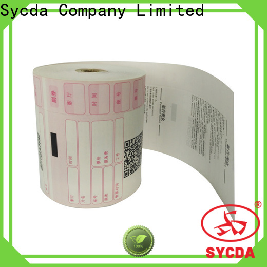 Sycda 110mm atm paper rolls wholesale for cashing system