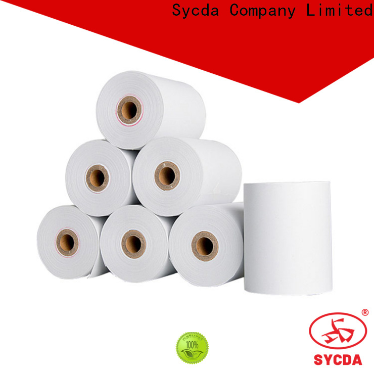 Sycda 2 plys carbonless paper customized for supermarket