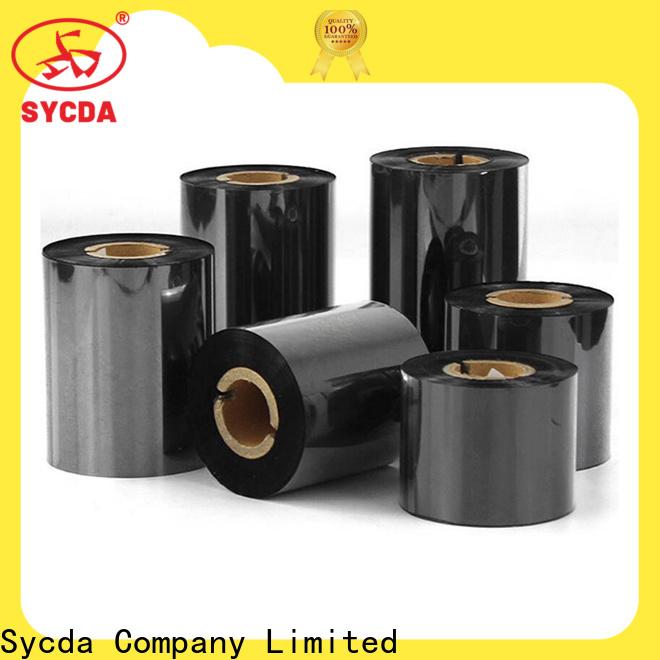 Sycda popular thermal printer ribbon factory for kraft paper