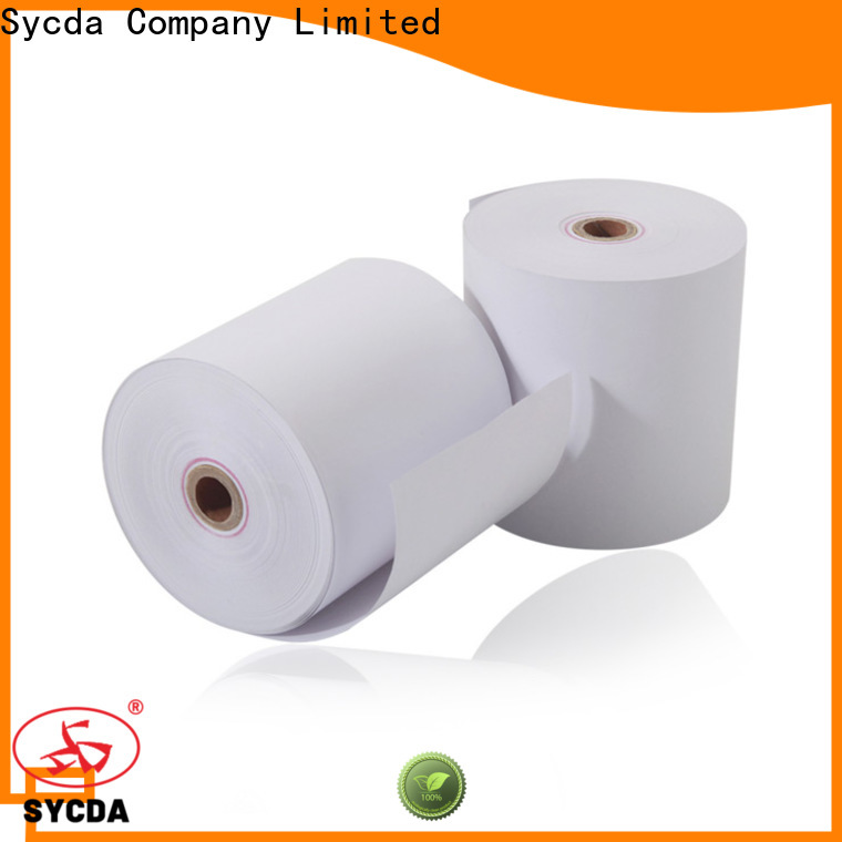 Sycda thermal paper roll price wholesale for fax