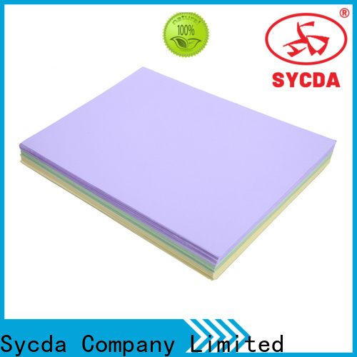 Sycda hot selling woodfree paper supplier for sale