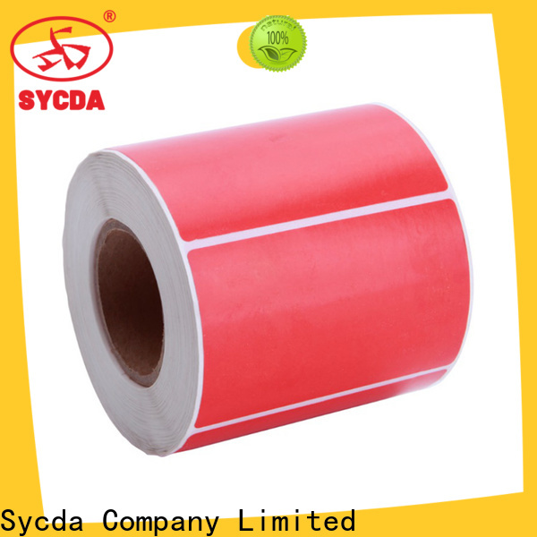 waterproof printed adhesive labels factory for logistics