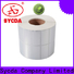 Sycda transparent self stick labels atdiscount for banking