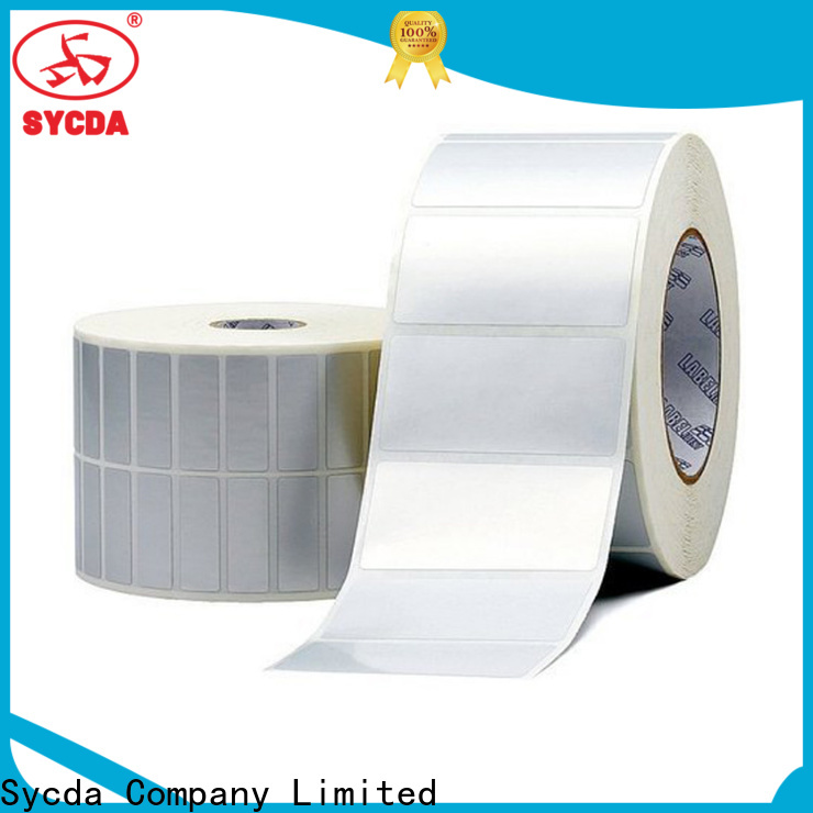 Sycda self adhesive labels design for logistics