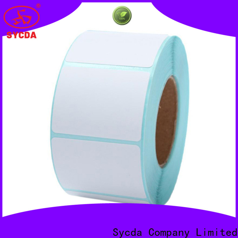 Sycda waterproof self stick labels design for hospital