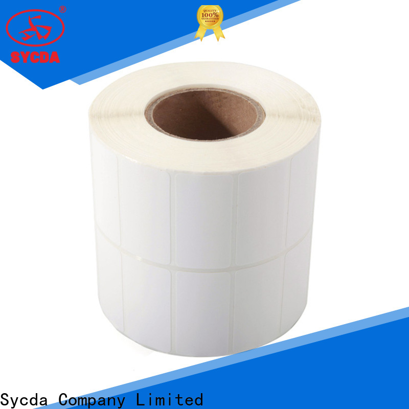 Sycda sticky label printing factory for banking