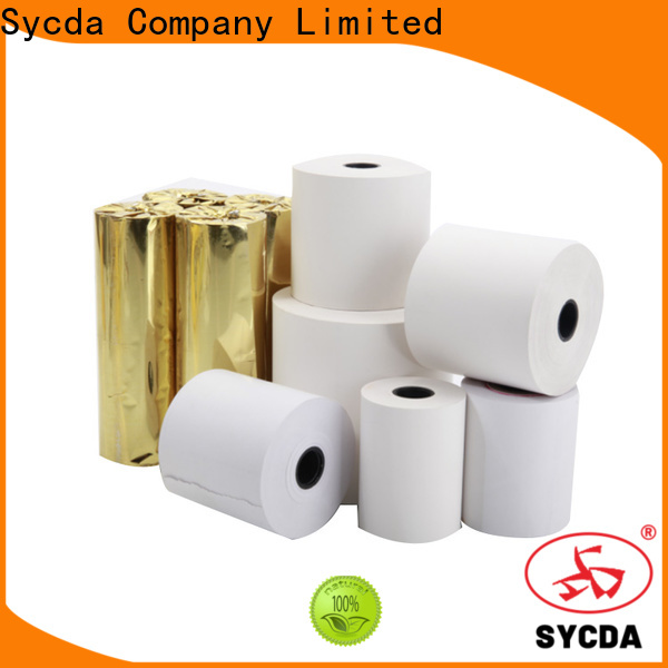 Sycda pos paper rolls supplier for retailing system