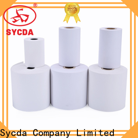 Sycda 57mm cash register rolls personalized for lottery