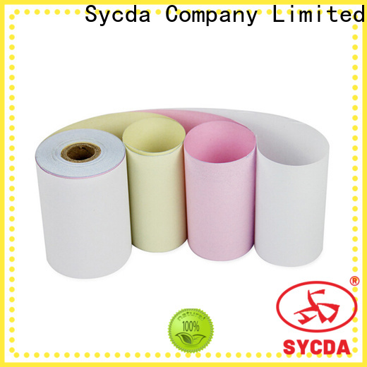 Sycda printed 2 plys ncr paper customized for computer