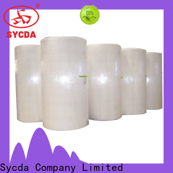 Sycda 3 plys carbonless paper customized for supermarket