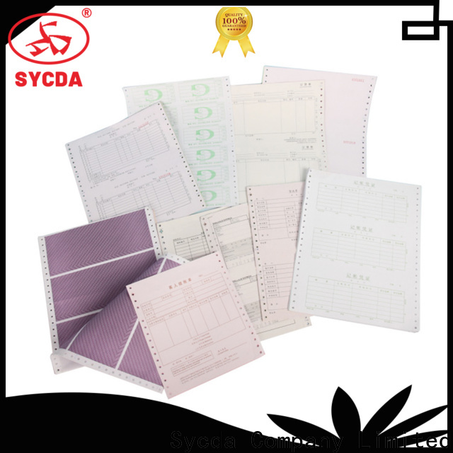 241mm380mm ncr carbonless paper 2 plys series for computer