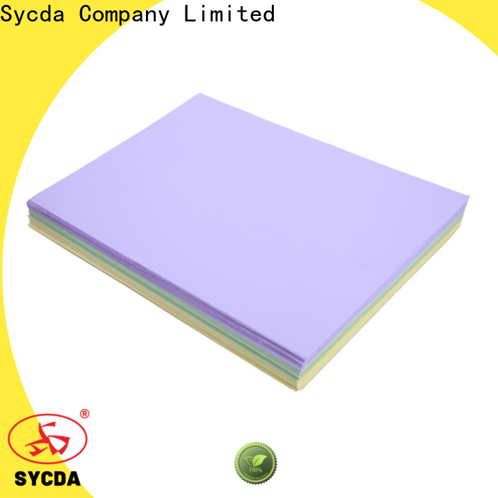 Sycda quality woodfree uncoated paper personalized for commercial