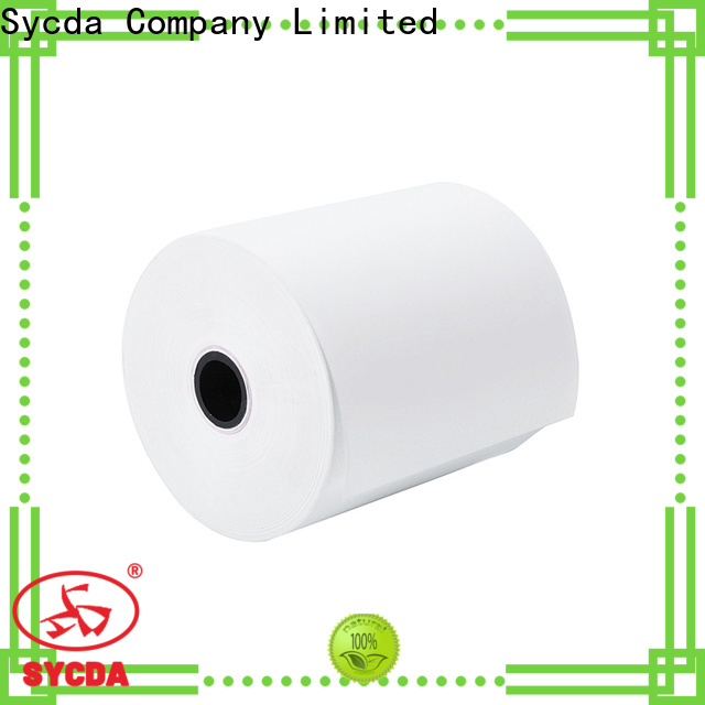 Sycda printed thermal paper roll price factory price for logistics
