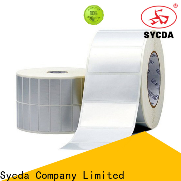 Sycda woodfree printed labels factory for aviation field
