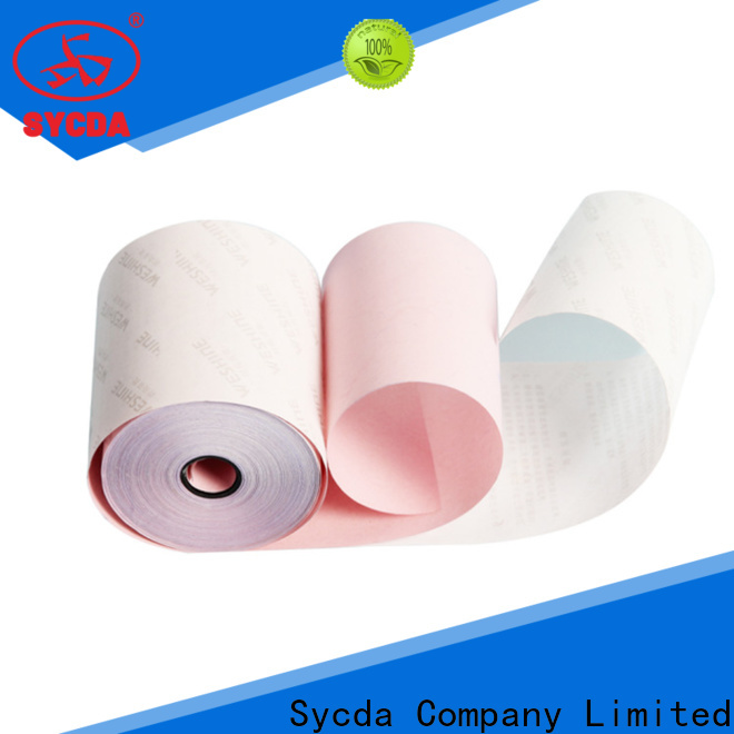 Sycda ncr 4 plys ncr paper sheets for supermarket