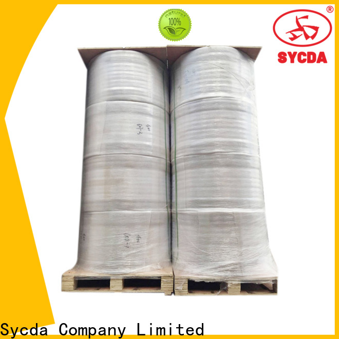 Sycda synthetic credit card paper rolls factory price for lottery