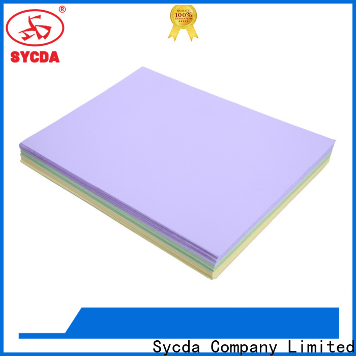 Sycda quality woodfree uncoated paper supplier for sale