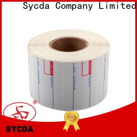 Sycda dyed printed adhesive labels with good price for aviation field