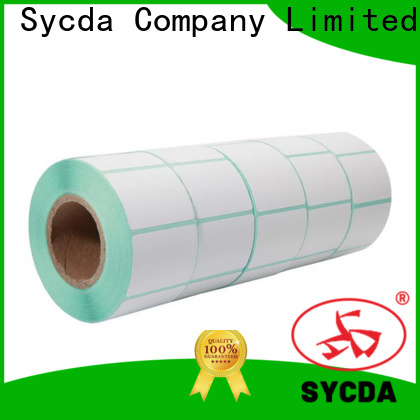 Sycda bright printable sticker labels with good price for supermarket