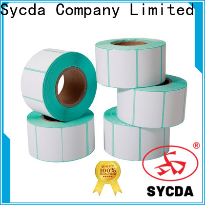 Sycda 30mm adhesive labels with good price for supermarket